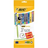 BIC Matic Fun Porte-mines - 0.7mm HB, Pochette de 10