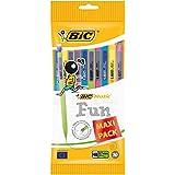 BIC Matic Fun Porte-Mines - 0.7mm HB, Pochette de 10