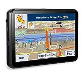 GPS Navi Navigation Auto 7 Zoll Widescreen kapazitiver Touchscreen 8GB tragbare Auto Navigationssysteme, tragbare Navigation Built-Date Kartendaten und kostenlose Lifetime Map Updates