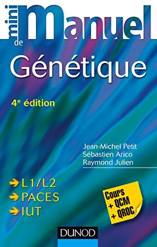Mini Manuel de Génétique - 4e éd - Cours + QCM + QROC