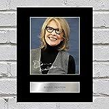 Diane Keaton Signiert Foto Display