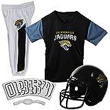 NFL Jacksonville Jaguars Unisex Franklin Sports NFL Jacksonville Jaguars Deluxe Uniform Set-Largejacksonville Jaguars Deluxe Uniform Set-Large, Blue, Large