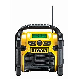Dewalt DCR019-QW Radio para Obras, batería/Cable DCR019/DCR019-QW, Negro, Amarillo