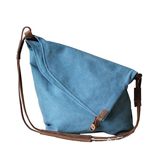 Borsa di tela delle donne/Art Van pulire borsa a tracolla retro-A A