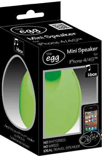 iBOX 79084G The Egg Speakers - Green