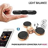 Zappeln - Spinner Heiße Kühlen Led - Licht Hand Spinner Bluetooth -Lautsprecher Musik Hand Spinner EDC Hand Spinner für Autismus Finger