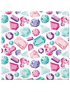 Procos servilleta 33cm 3Velos Minnie Party Gem, Multicolor, 5pr89903