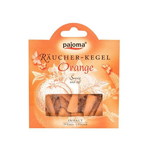 Pajoma 67847 Räucherkerzen - Räucherkegel Orange