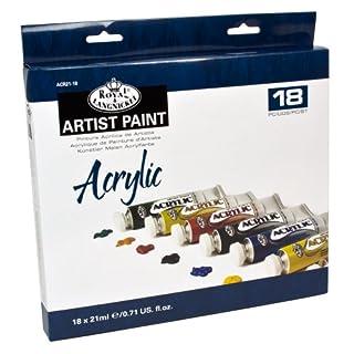 Royal & Langnickel - Pintura acrílica (21 ml, 18 unidades), multicolor (B009PLMTOK) | Amazon Products