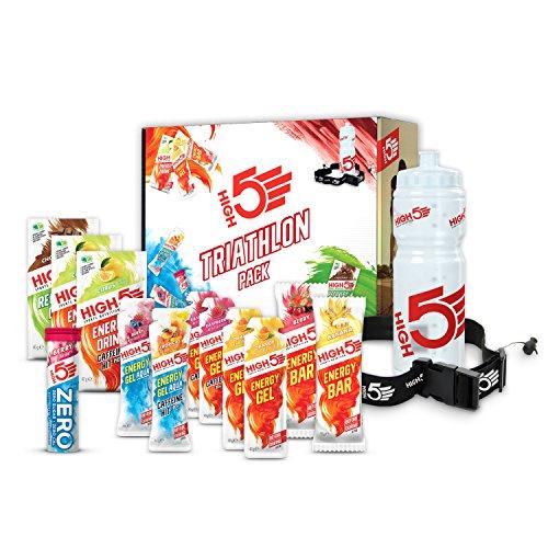 High5 High5 Pack De Triatlón - Selección De Productos De Recuperación De Energía E Hidratación Deportiva Para Triatlón 920 g