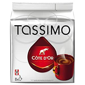 Tassimo Côte d''Or, 16 T-Discs (8 Portions)