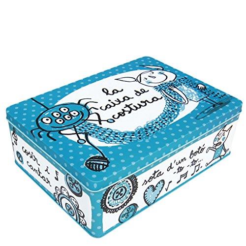 laroom-12579-caja-metalica-la-caixa-de-costura-color-azul