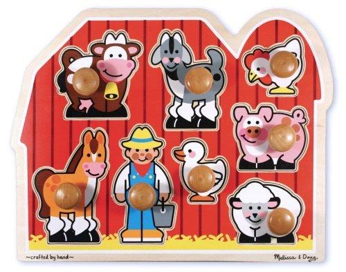 Melissa & Doug - Amigos de la granja, rompecabezas...