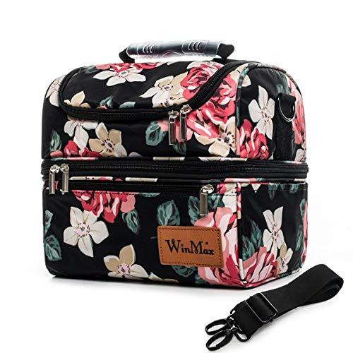 Winmax–Bolsa térmica portátil Gran Capacidad 12L Bolsa de Almuerzo Lunch Bag–Nevera portátil...
