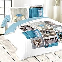 housse de couette mer. Black Bedroom Furniture Sets. Home Design Ideas