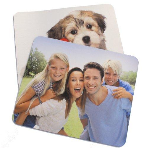 Dogidogs Mousepad mit eigenem Foto, individuell Bedruckt mit Logo oder Motiv, 5 mm stark, 270 x 190 mm