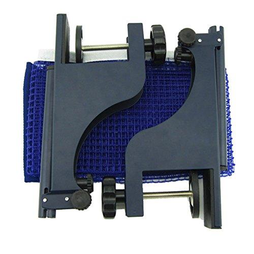 Gazechimp Tischtennis Netzgarnitur, Hochwertig und ganz einfach anzubringen, geeignet für Training, Fitness