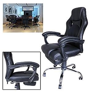 518wrB94p4L. SS300  - huigou-HG-Silla-Giratoria-De-Oficina-Gaming-Chair-Apoyabrazos-Acolchados-Premium-Comfort-Silla-Racing-De-Carga-Altura-Ajustable