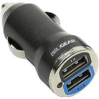 BIRUGEAR 2 Porte 2.1A + 1A Doppia Uscita USB Mini