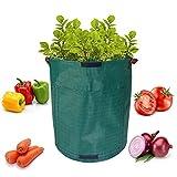 Sacchi per la coltivazione di patate, secchio da giardino per giardinaggio, verdure, contenitore per piante