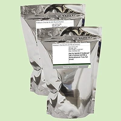 Potassium Chloride 99-100.5% ACS,FG,FCC 2 x 100g Including Delivery