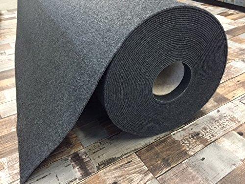 Autoteppich zur Auskleidung, Meterware in beliebiger Größe - Qualität Hit anthrazit (4m x 2m Breite)