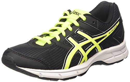 ASICS Gel-galaxy 8 Gs - Scarpe Running Unisex - Bambini, Nero (black/flash Yellow/white 9007), 40 EU