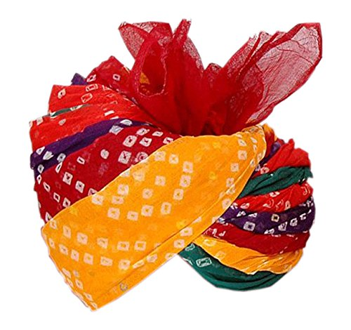ITE Men's Cotton Turban(ITE-005_Multicolored)