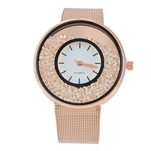 souarts-womens-rose-gold-color-band-round-dial-quicksand-rhinestone-quartz-analog-wrist-watch-22cm