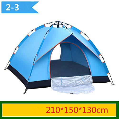 WEIGZ Zweistöckiges, automatisches Zelt im Freien kostenlos eingestellt (3 Sekunden, um das Konto zu öffnen)