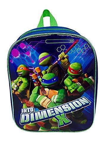 Teenage Mutant Ninja Turtles Sac à Dos Junior, 33 cm, Multicolore