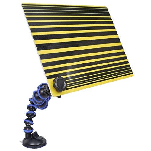 Wimpelkette zum Entfernen von Holzböden, 29,7 x 21 cm, Schwarz/Gelb
