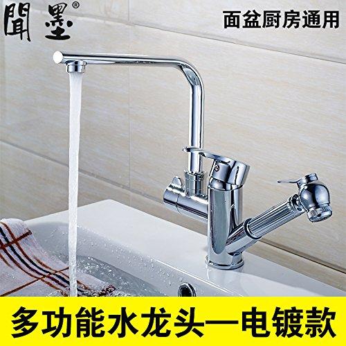 Hlluya Wasserhahn für Waschbecken Küche Riechen Sie ...