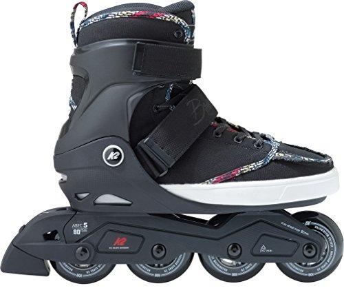 K2 Erwachsene Inline Skates Broadway - Schwarz - EU: 43.5 (US: 10 - UK: 9) - 30B0023.1.1.100 -