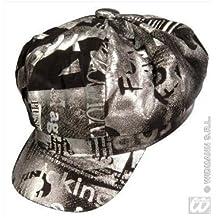 Rapero - Gorra de colour negro - Plata