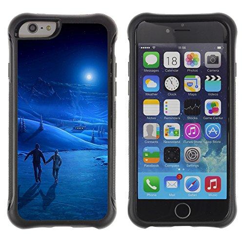 """Graphic4You """"Love Memories With You"""" Design Shockproof Anti-Rutsch Weichen Hülle Case Tasche Schutzhülle für Apple iPhone 6 / 6S Design #10"""