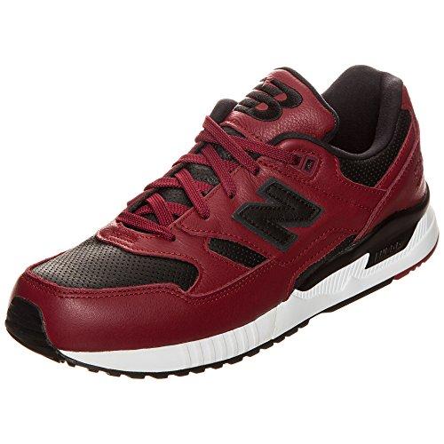New Balance Herren 530 Sneakers rot / schwarz / weiß