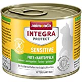 Animonda Integra Protect Sensitive Katzenfutter Pute + Kartoffeln, 6er Pack (6 x 200 g)