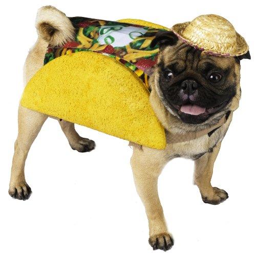 Fun World Hundekostüm, Modell: Taco, ca. 136 g, Größe (Kostüme Hund Taco)