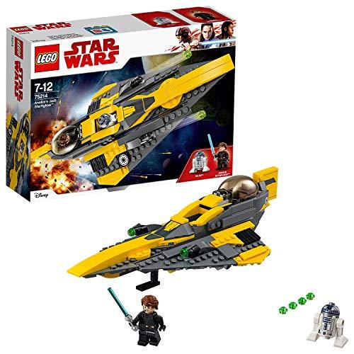 LEGO Star Wars 75214 Anakin\'s Jedi Starfighter, Kinderspielzeug