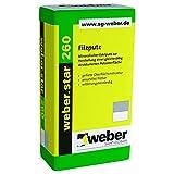 weber.star 260 0,5mm Korn 30kg Filzputz mineralischer Edelputz Oberputz