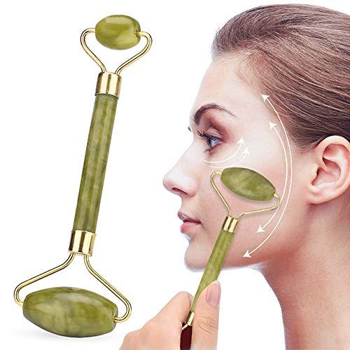 Massagegerät für Gesicht und Nacken, Jade