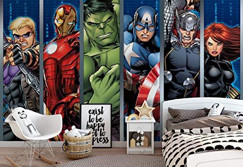 Mural de Marvel Avengers de...