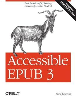 Accessible EPUB 3 (English Edition) di [Garrish, Matt]