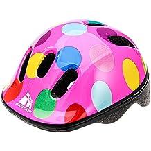 Casco de seguridad pequeño de bicicleta, para niños, color Dots, ...