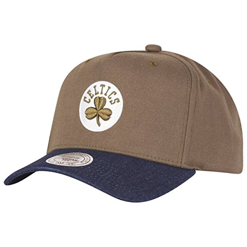 Mitchell & Ness Snapback Denim Boston Celtics olive/navy