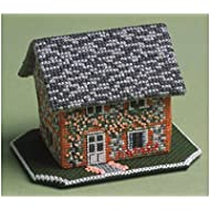 The Nutmeg Company Keepers Cottage 3d Kit per punto croce