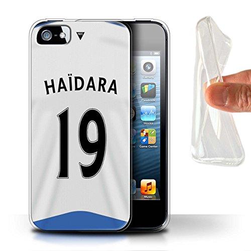 Offiziell Newcastle United FC Hülle / Gel TPU Case für Apple iPhone 5/5S / Pack 29pcs Muster / NUFC Trikot Home 15/16 Kollektion Haïdara