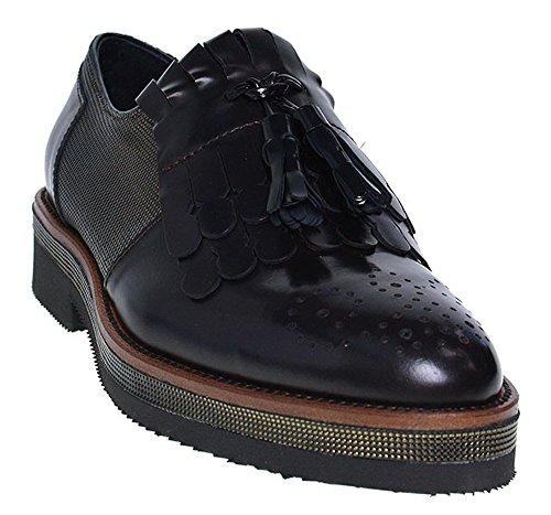 Ville Marron Marron Lacets Chaussures de Femme Pour Maripé Marron à 7qvApw