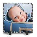 Schiefertafel - verschiedene Größen - mit individuellem Fotodruck, Größe:200x300 mm